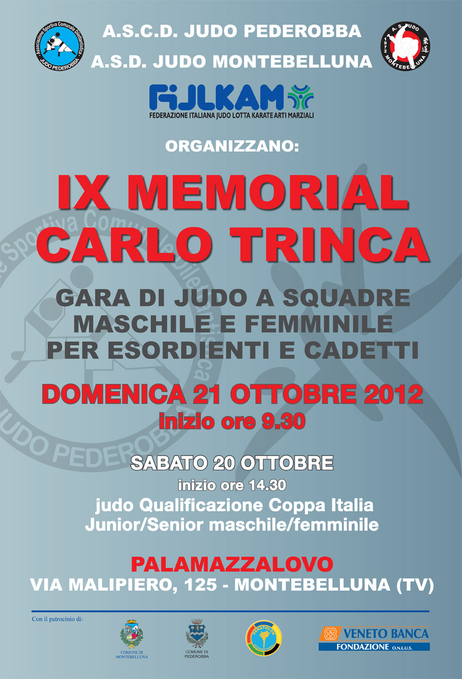 9° memorial Carlo Trinca