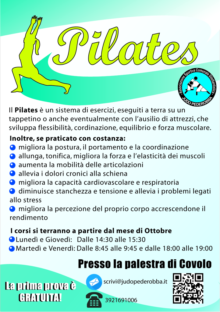 Volantino Pilates 2014