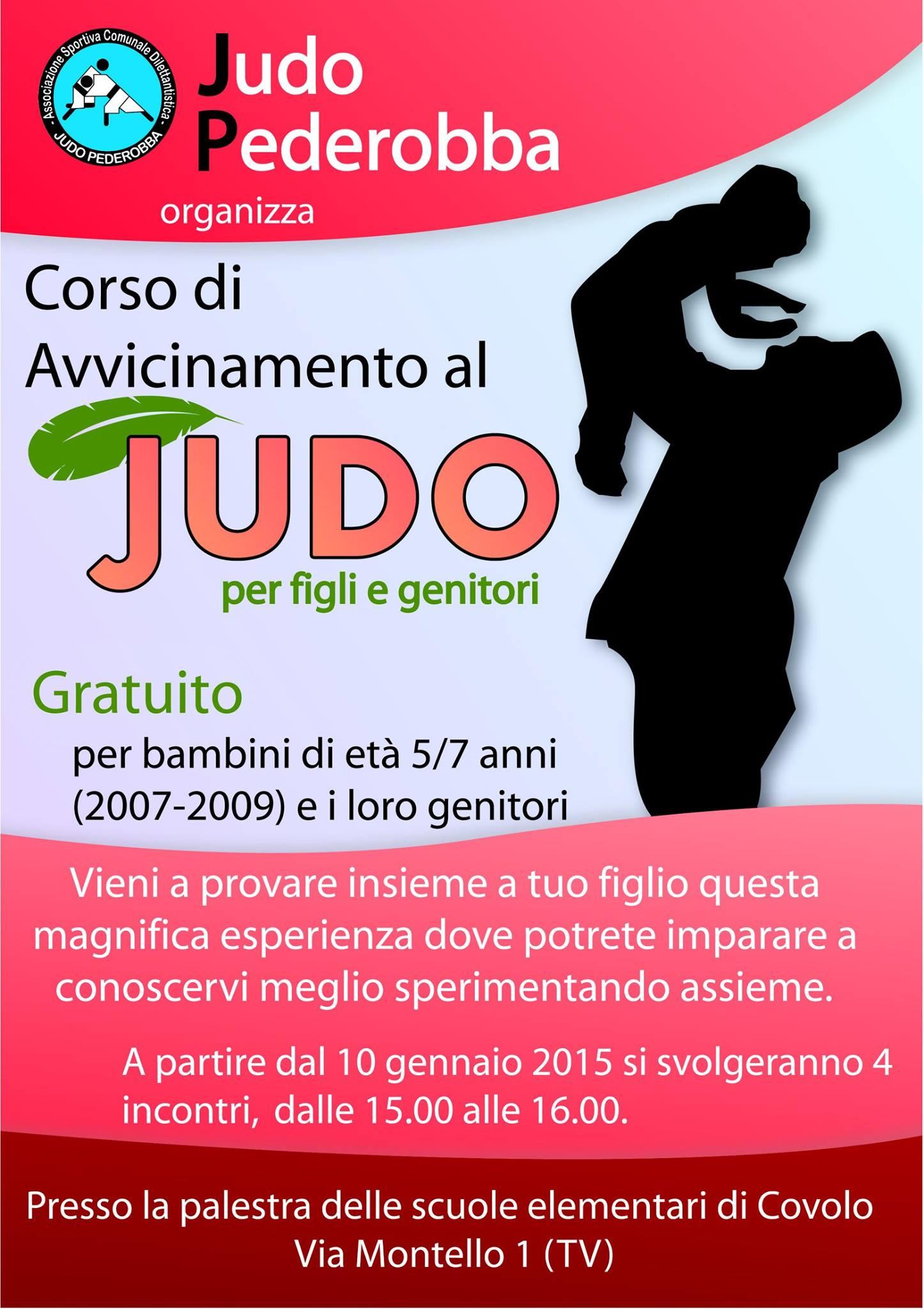 Corso di introduzione al Judo per genitori e bambini