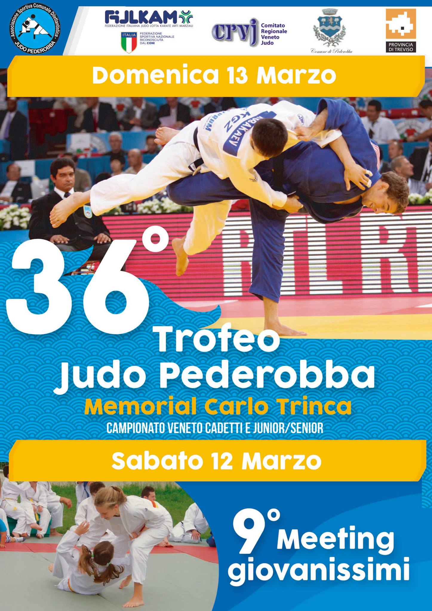 36 Trofeo Judo Pederobba